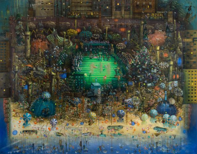 , 'Martina vs. Chris Evert,' 2014, Ronald Feldman Gallery