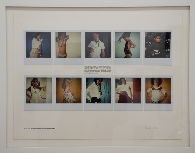 , 'Lessons in Posing Subjects Girls/Standard Poses,' 1982, Rhona Hoffman Gallery