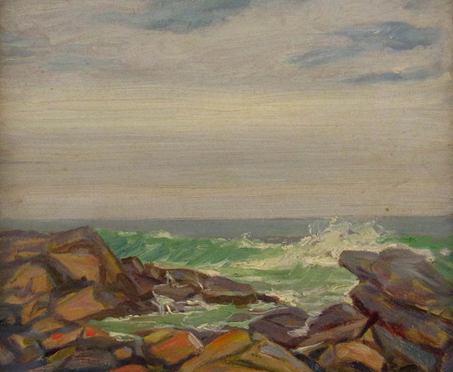 Louise Kamp, 'Seascape', ca. 1940, Janus Galleries