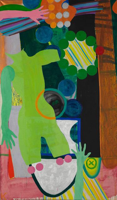 , 'Grüne Figur mit Ring,' 1963, Simone Subal