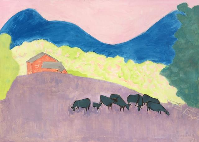 , 'Bucolic Landscape,' 1973, Childs Gallery