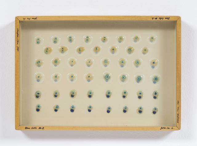 , 'Liquid/Solid series: Blue Cells No. 2,' 1980, Philip Martin Gallery