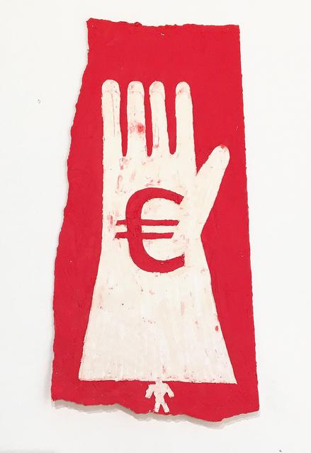 , 'Euro Glove,' 2015, Galerie Sabine Knust