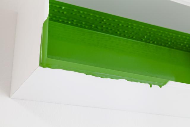 , 'Gussbox (green),' 2009, DAS ESSZIMMER