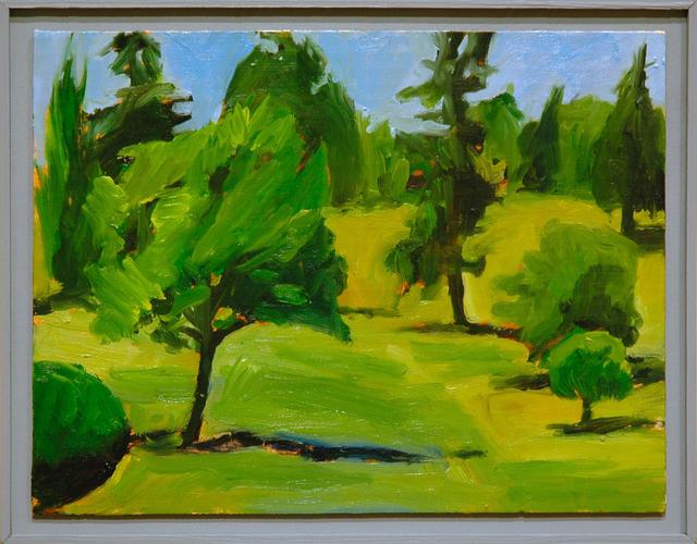 , 'Untitled (Green Wood II),' 2016, C. Grimaldis Gallery