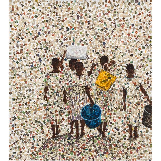 Ronex Ahimbisibwe, 'It comes from far', 2017, PIASA