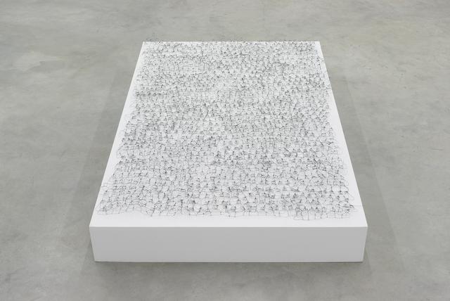 , 'Wire Drawing,' 2014, Galerija Gregor Podnar