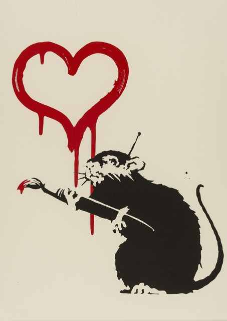 Banksy, 'Love Rat', 2004, Forum Auctions