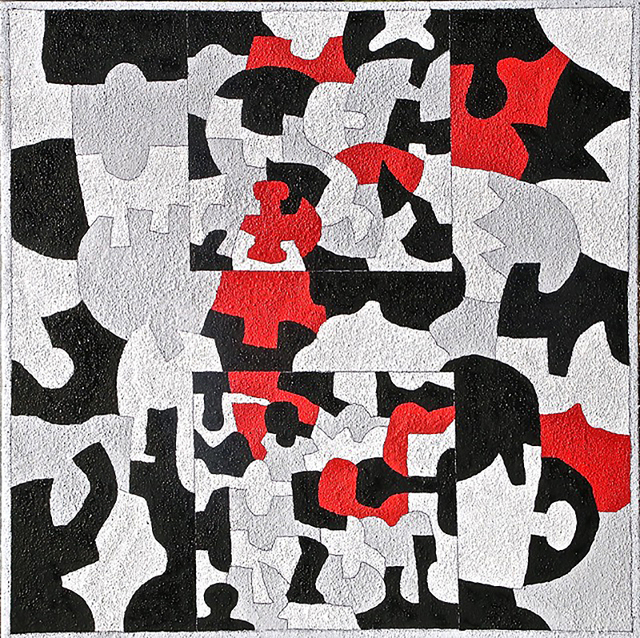 , 'Interlock #45,' 2015, Carrie Haddad Gallery