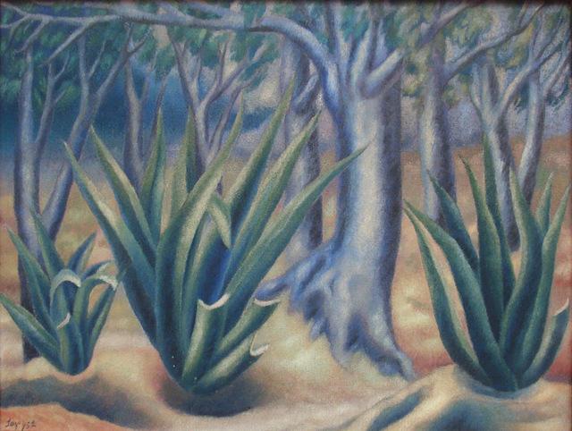 , 'Paisaje con Magueyes,' 1952, Galeria Enrique Guerrero