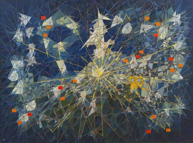Oskar Fischinger, 'Tower', 1954, Peyton Wright Gallery