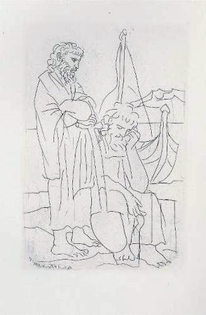Pablo Picasso, 'Deux Vieux au Bord de la Mer', 1934, Galerie d'Orsay