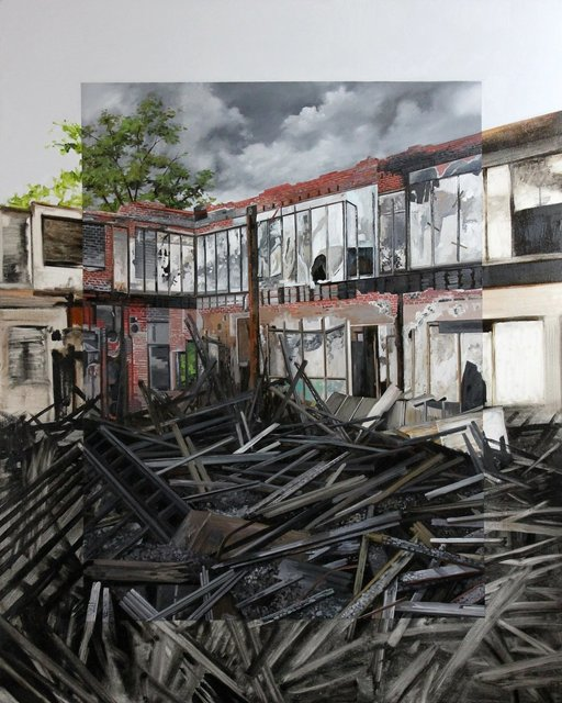 , 'Fire Damage,' 2015, Hashimoto Contemporary