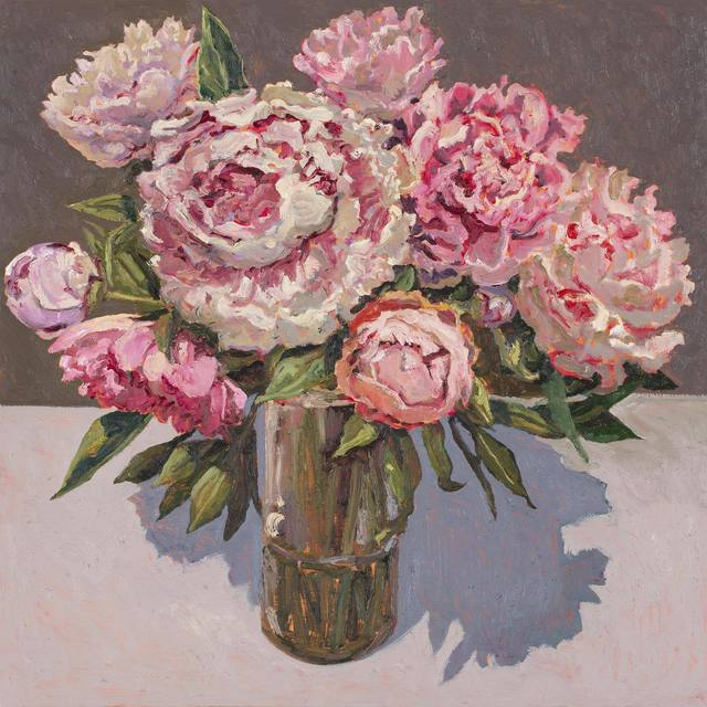 , 'Peonies,' 2018, Jan Murphy Gallery