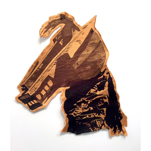 , 'HorseCraft (Golden Head),' 2017, Postmasters Gallery