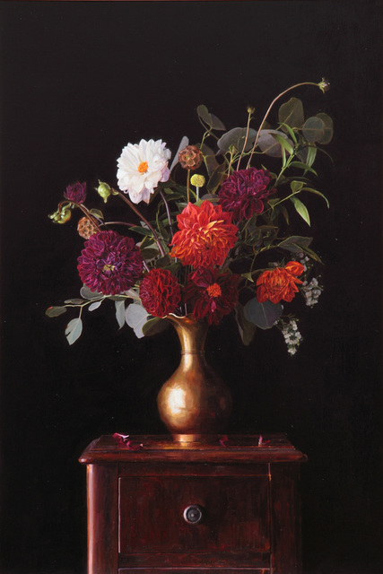 , 'Floral in Brass Vase,' , Gallery 1261