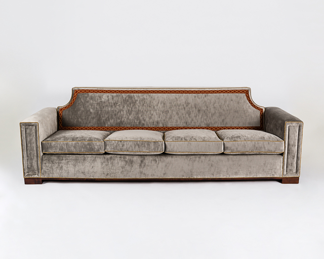 , 'Freestanding Four Seat Sofa (pair),' 1955, Maison Gerard