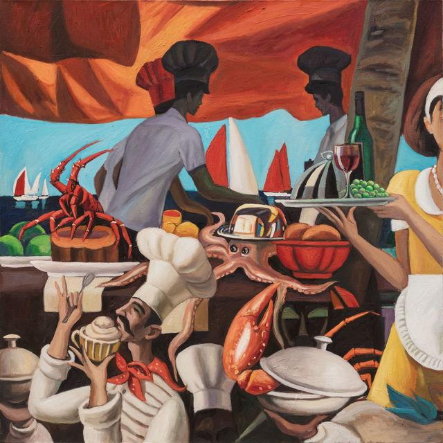 , 'Pumpkin Steamed Lobsters ,' 2019, Tang Contemporary Art