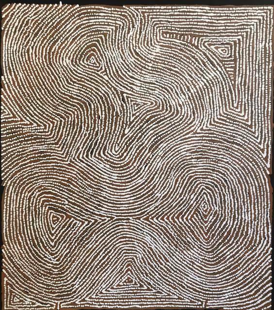 Warlimpirrnga Tjapaltjarri, 'Untitled - Marua', 2019, Gannon House Gallery