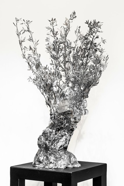 , 'Olive Tree and butterflies,' 2015, Galerie Ariel Sibony