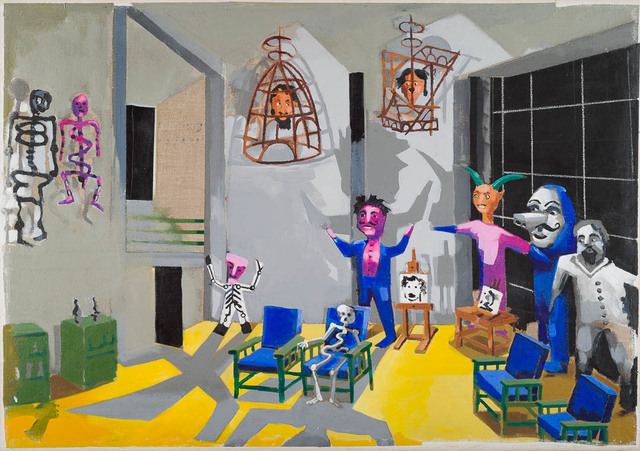 , 'The Museum of Exotic Modernism: St Angel, 2017 Diego Rivera's studio, St Angel, Mexico City ,' 2017, Candida Stevens Gallery