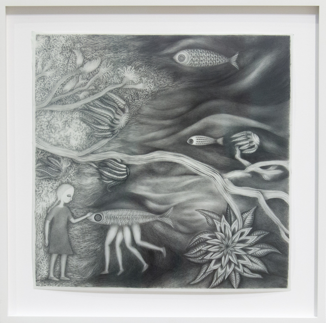 Andrea Dezsö, 'Girl Walking with Fish', 2013, C24 Gallery