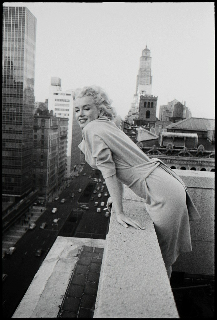 'Marilyn On The Roof' NYC