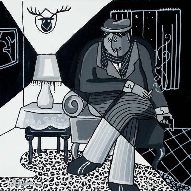 , 'Black & White ,' 2013, Blue Gallery
