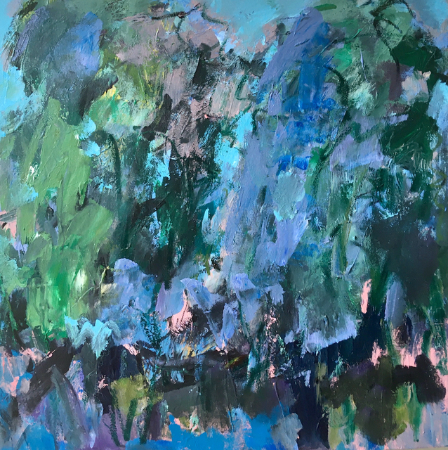 Deborah Lanyon, 'Richmond Park III', 2020, Painting, Acrylic on stretched canvas, Joanna Bryant & Julian Page
