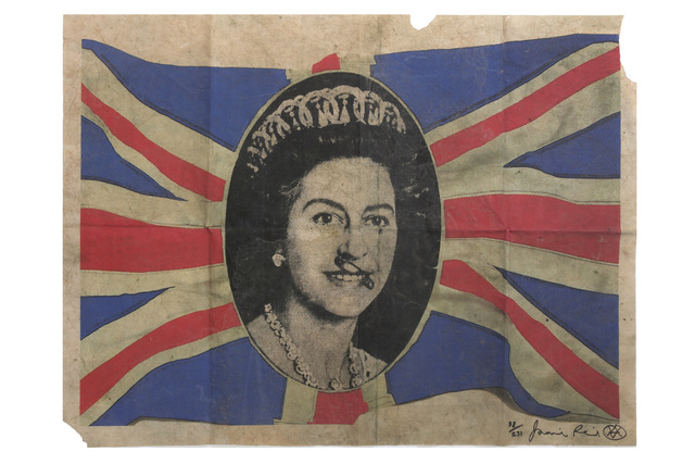 Jamie Reid, 'Dirty Fake Old Queen', 2015, Chiswick Auctions
