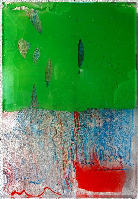 , 'Untitled Sap Green,' 2018, JanKossen Contemporary