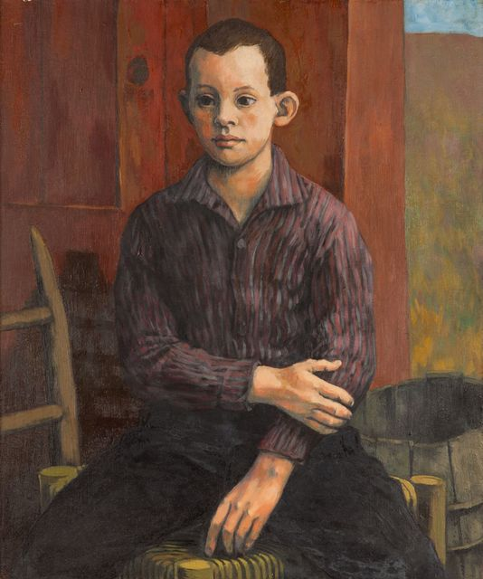 , '[Portrait of a Seated Boy],' , Childs Gallery