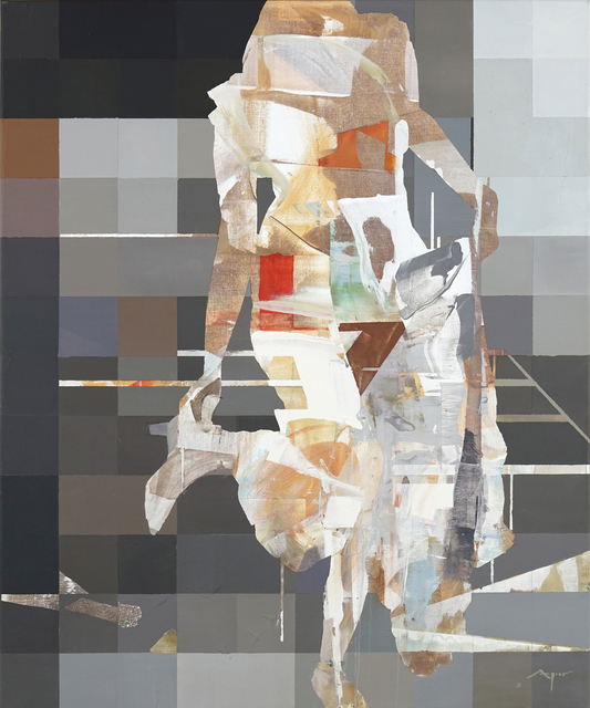 , 'Digital Memory 1: Standing,' 2019, Slate Contemporary