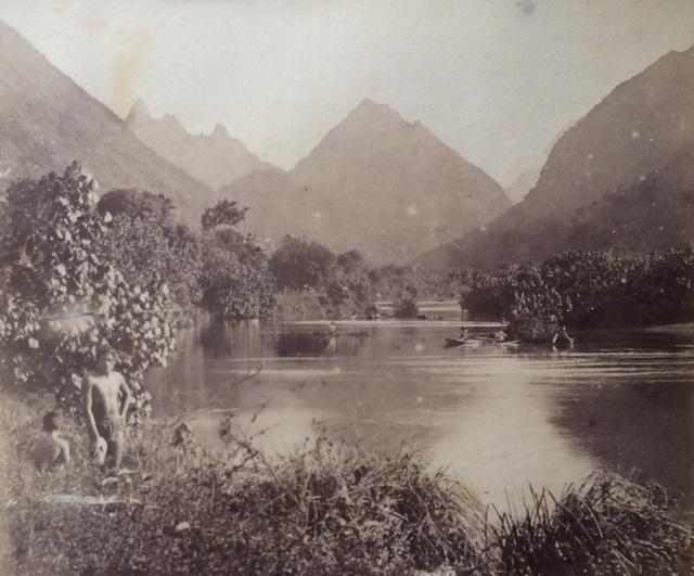 Charles Georges Spitz, 'Tahiti. Riviere de Tautira', 1888, Grob Gallery