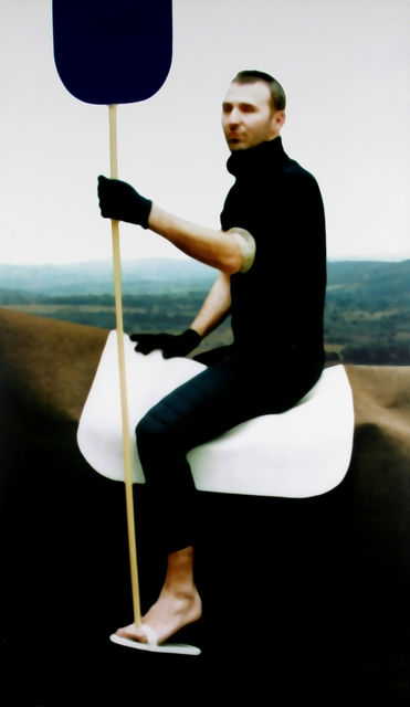 , 'Untitled (Gilles on a horse with a stick),' 1998, Elgiz Museum