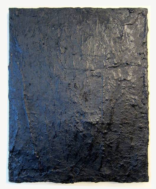 , 'Tarred Canvas,' 2015, Hal Bromm