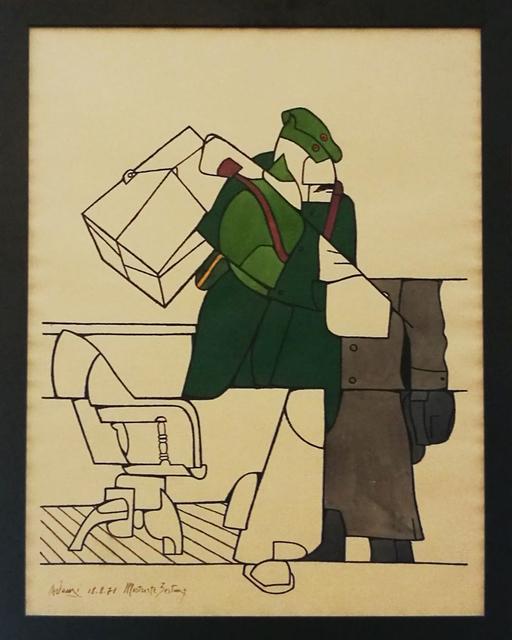 , 'Illustrierte Zeitung,,' 1971, Galerie du Griffon