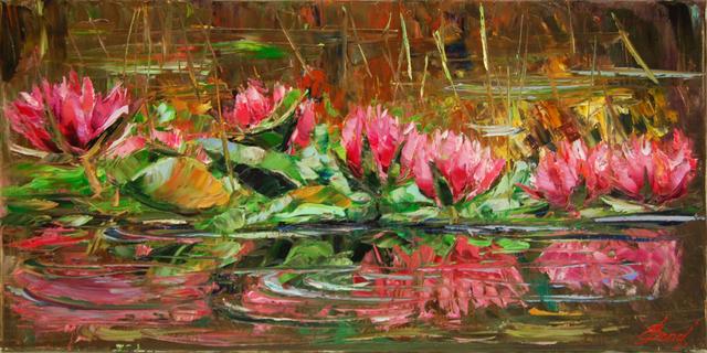 Elena Bond, 'Enchanted Lilies', 2016, Baterbys