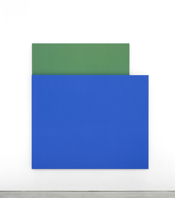 , 'Blue Relief over Green,' 2004, The FLAG Art Foundation