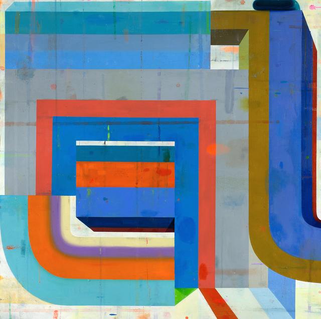 Deborah Zlotsky, 'On, over, through', 2017, Kathryn Markel Fine Arts