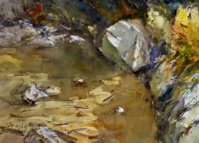 , 'Creeks Edge,' 2018, Wally Workman Gallery