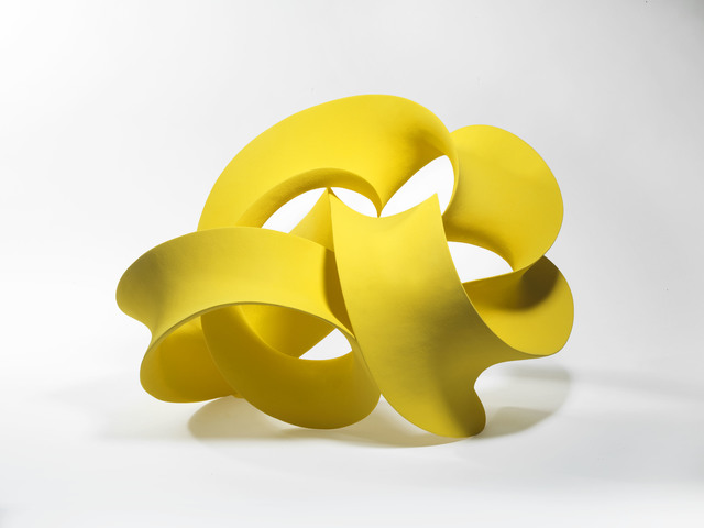 Merete Rasmussen, 'Yellow Twisted Form', 2015, Pangolin London
