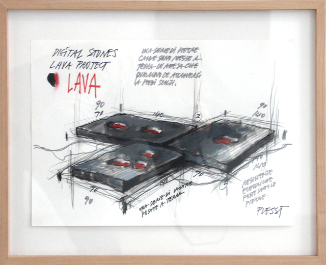 , 'Lava Project 3,' 2005, Mario Mauroner Contemporary Art Salzburg-Vienna