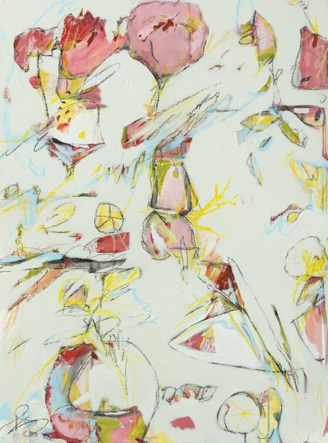 Teresa Roche, 'Hot Tropics & Hobie Cats', Painting, Watercolor, acrylic, paper, Miller Gallery Charleston