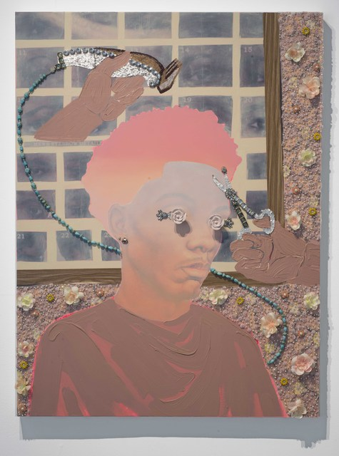 , 'Long on the top, short on the sides,' 2017, De Buck Gallery