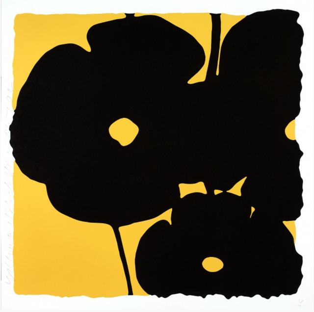 Donald Sultan, 'Yellow and Black, Nov 6, 2015', 2015, New Gallery of Modern Art