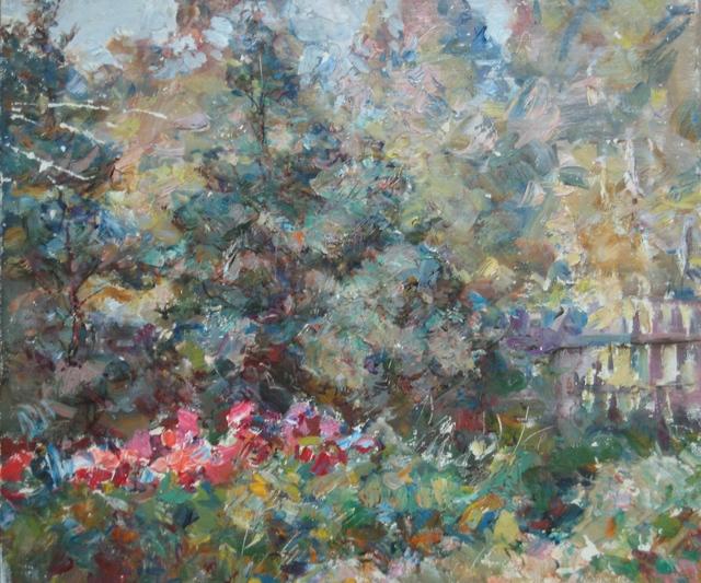 Petr Nikolaevich Andrianov, 'Floxias in bloom', 1965, Surikov Foundation