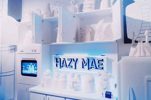 , 'Hazy Mae Installation ,' 2018, Gallery Madison Park