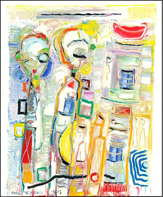 , 'Palette Dance ,' 2015, Walter Wickiser Gallery