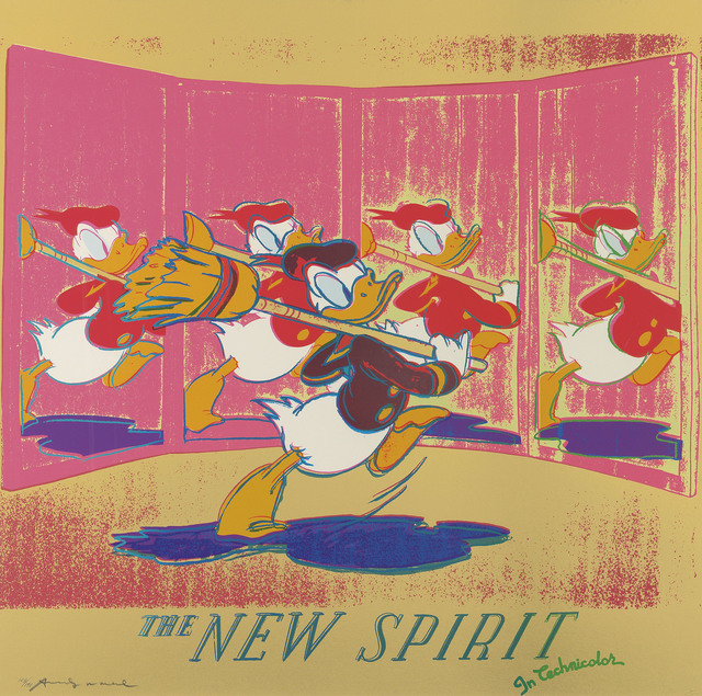 Andy Warhol, 'The New Spirit (Donald Duck), from: Ads', 1985, Christie's